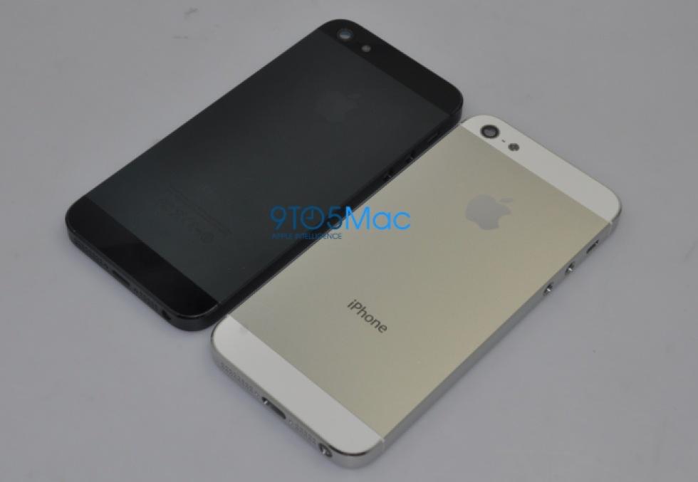 Bilder på vad som sägs vara iPhone 5