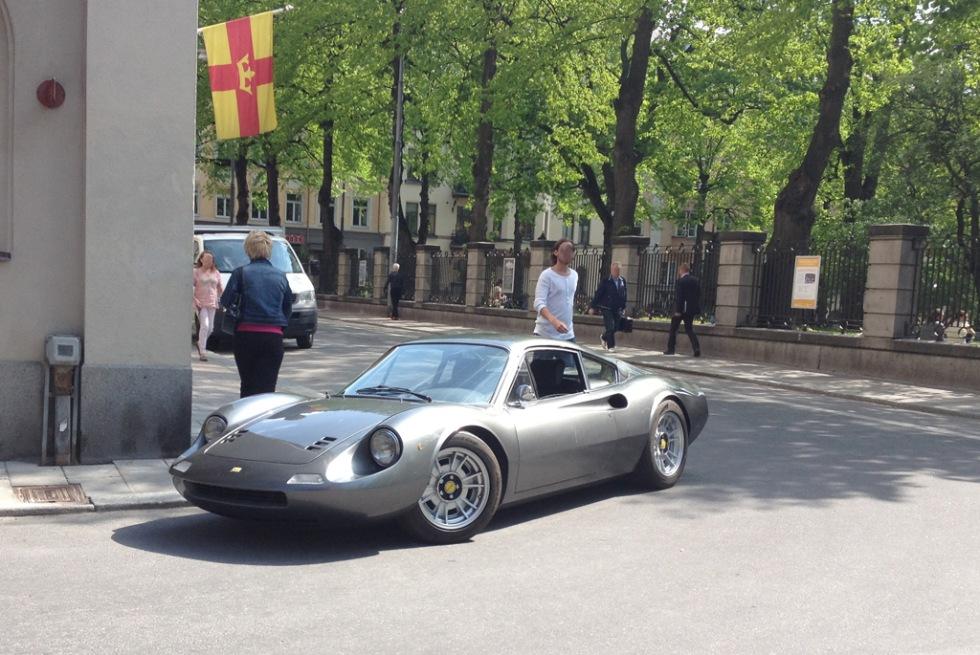 Ferrari-galore i huvudstaden