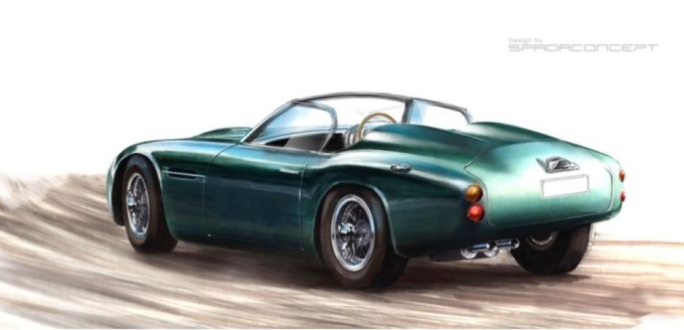 Företag ska bygga modern Aston Martin DB4 GT Zagato
