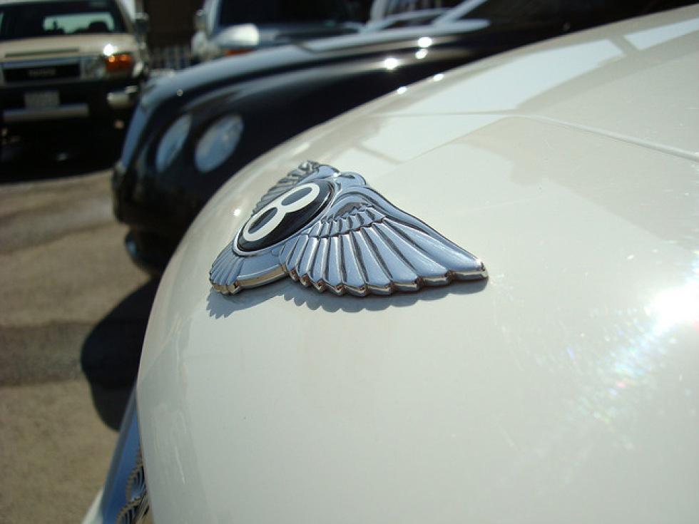 Ny Bentley presenteras på Goodwood