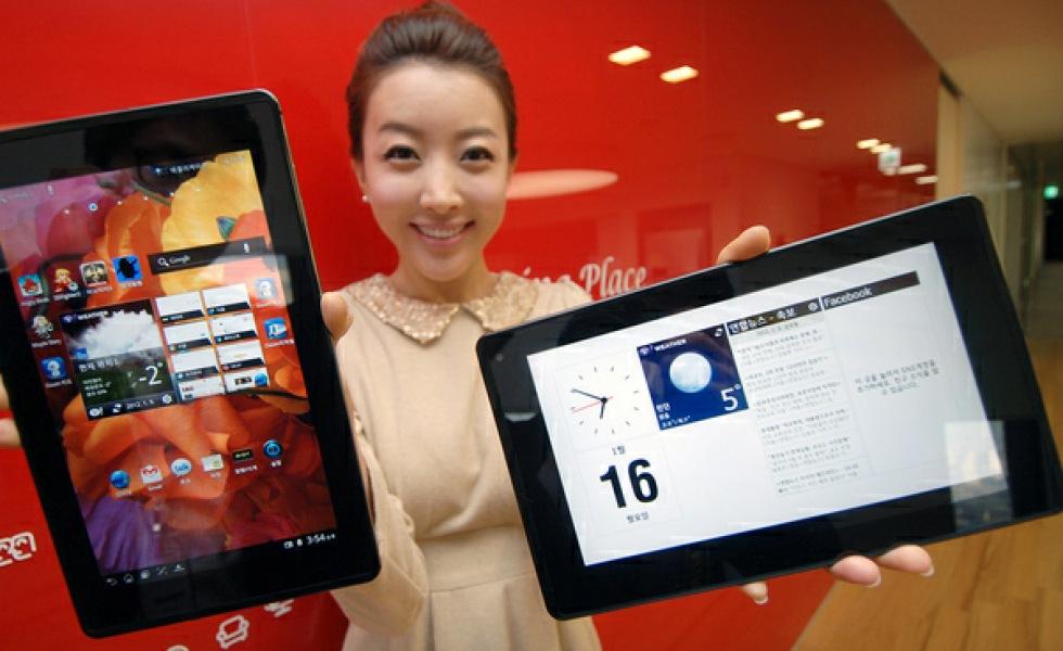LG avvaktar med att utveckla fler tablets