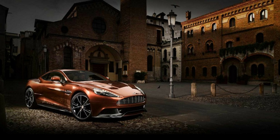 Aston Martins nya heter 310 Vanquish