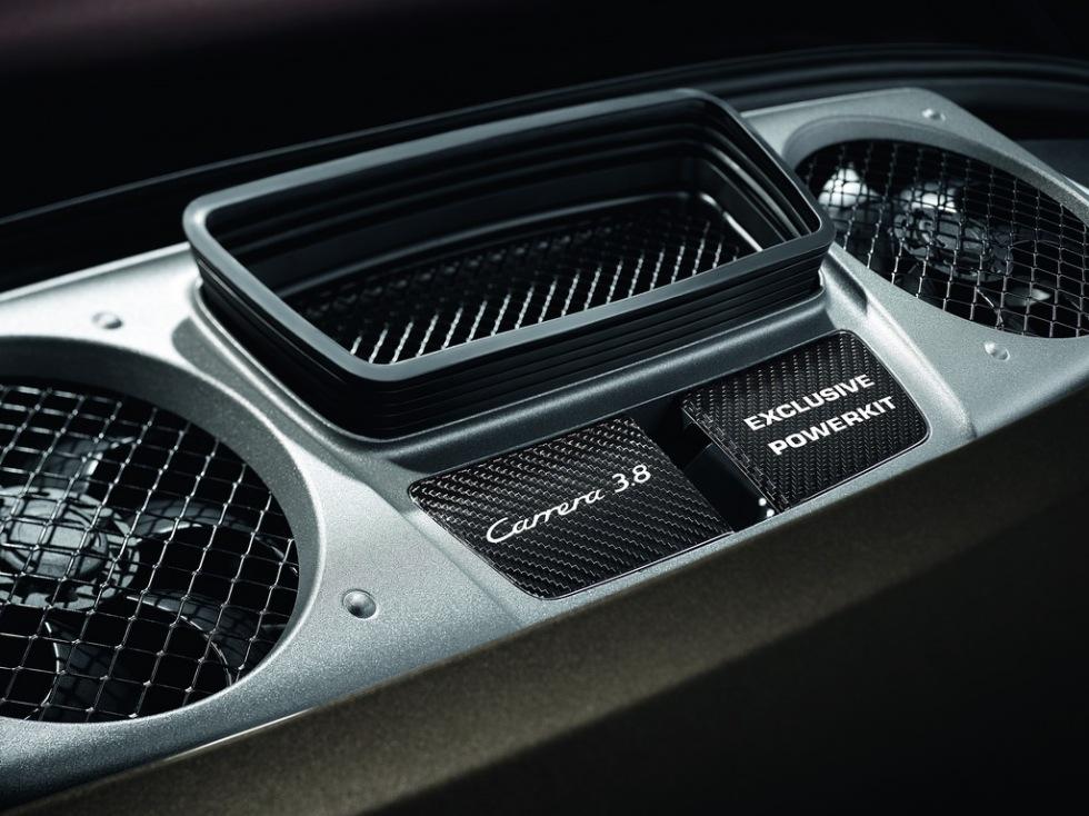 Mer krut i Porsche Carrera S med ny uppgradering