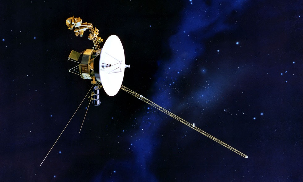 Snart lämnar Voyager 1 solsystemet