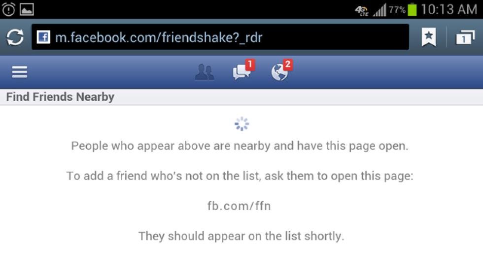 Facebook vill visa var dina vanner befinner sig