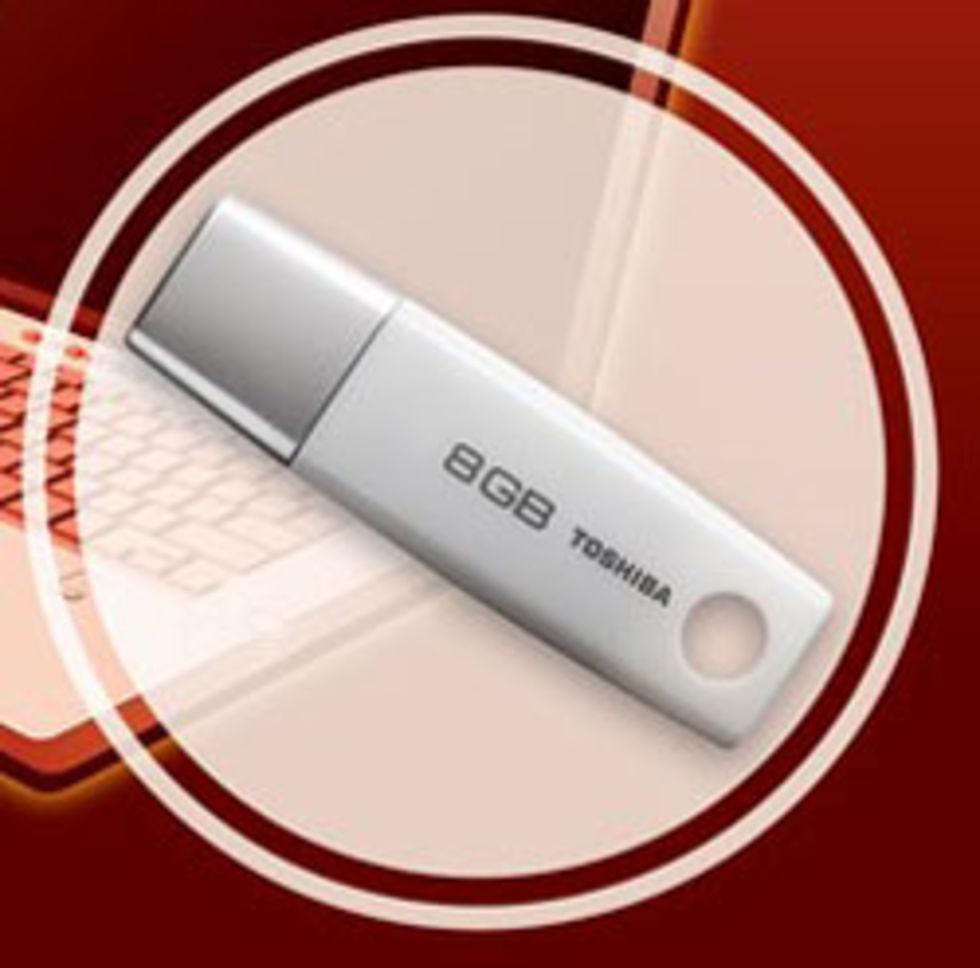 Toshiba kommer med 32GB USB-minne