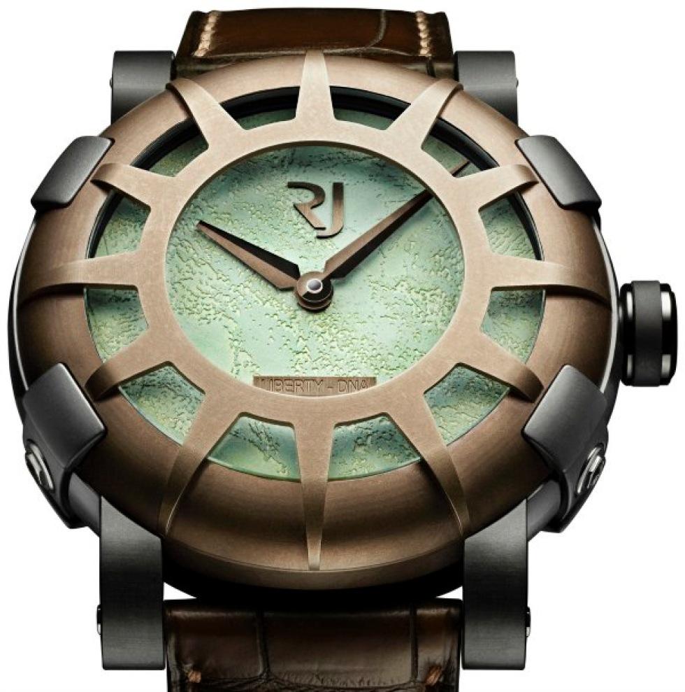 Ny klocka från Romain Jerome har lite av Frihetsgudinnan i sig