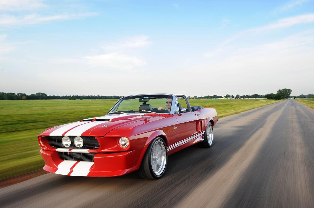 Klassisk Mustang med 780 hästar