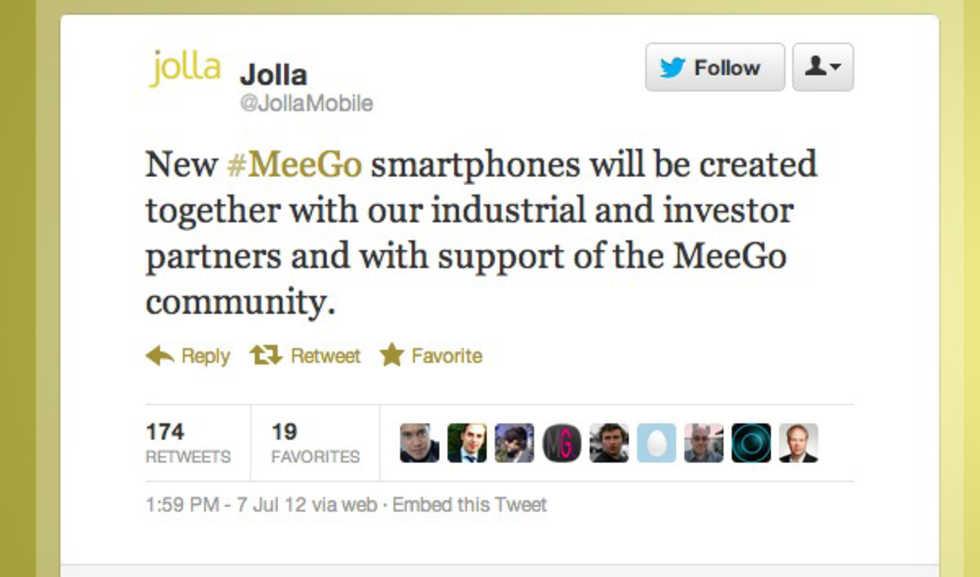 Före detta Nokia-anställda ska ta fram MeeGo-telefoner