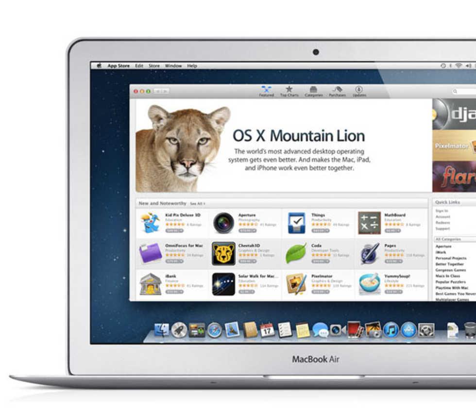 Alla Macar kommer inte att kunna uppgradera till Mountain Lion