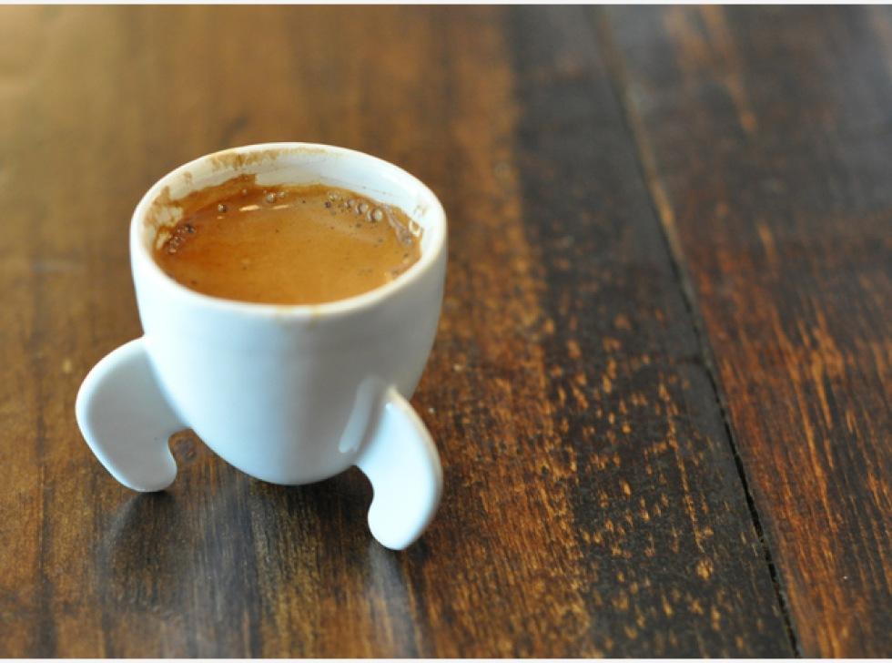 Söt espressokopp
