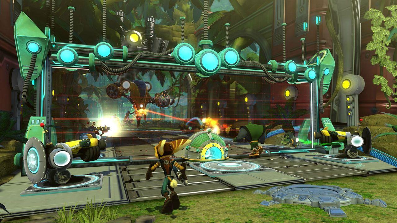 Nya bilder från Ratchet & Clank: QForce