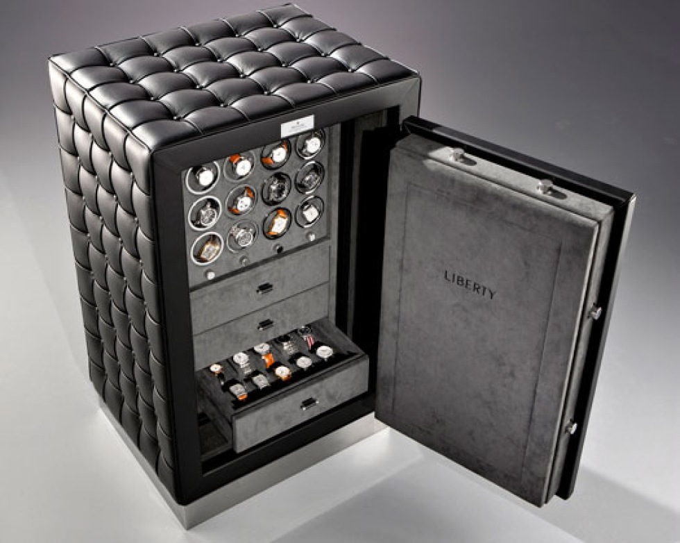 Rädd om dina klockor? Lås in dem i det här kassakåpet för 88 000 dollar