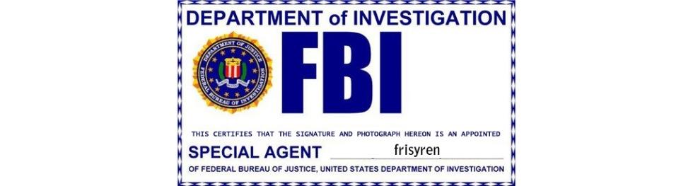 FBI slutar med papper