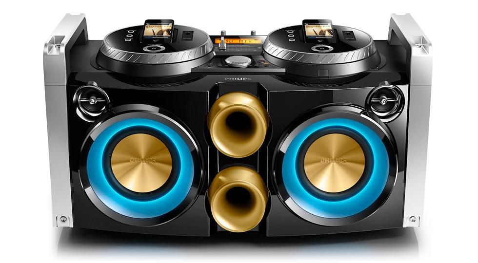 DJ-boombox för iPhone från Philips