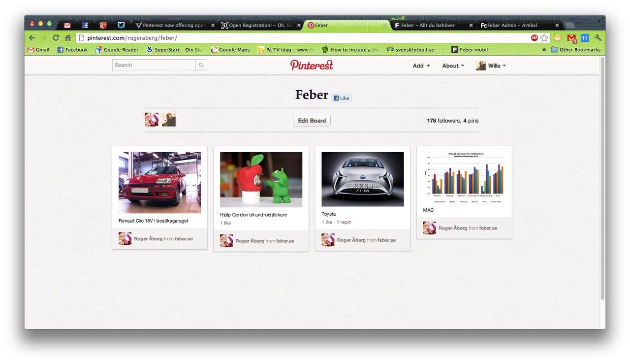 Pinterest nu öppet för alla