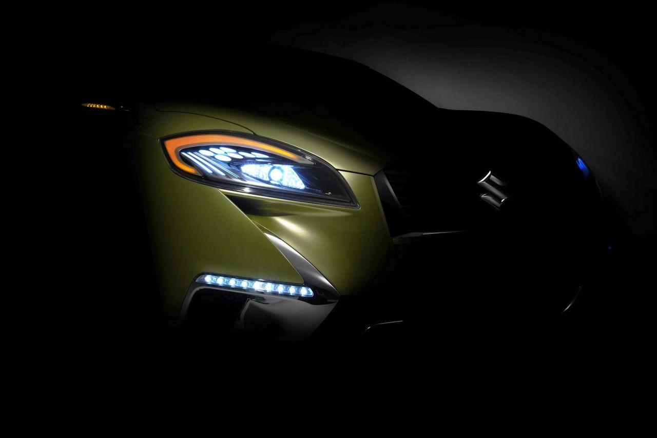 Suzuki visar konceptet S-Cross i Paris