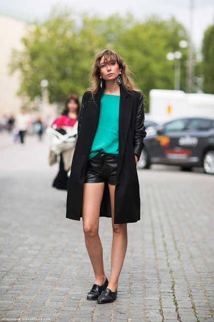 Michaela Forni bjuder på sin Guldknappen outfit