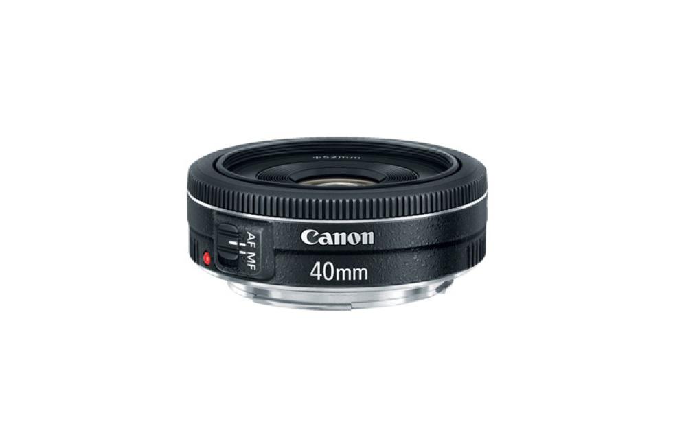 Canon löser problemet med 40mm-pannkakan