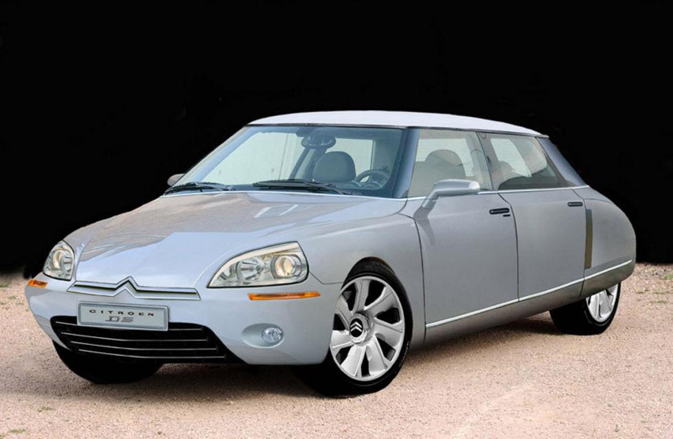 Citroën DS i ny tappning