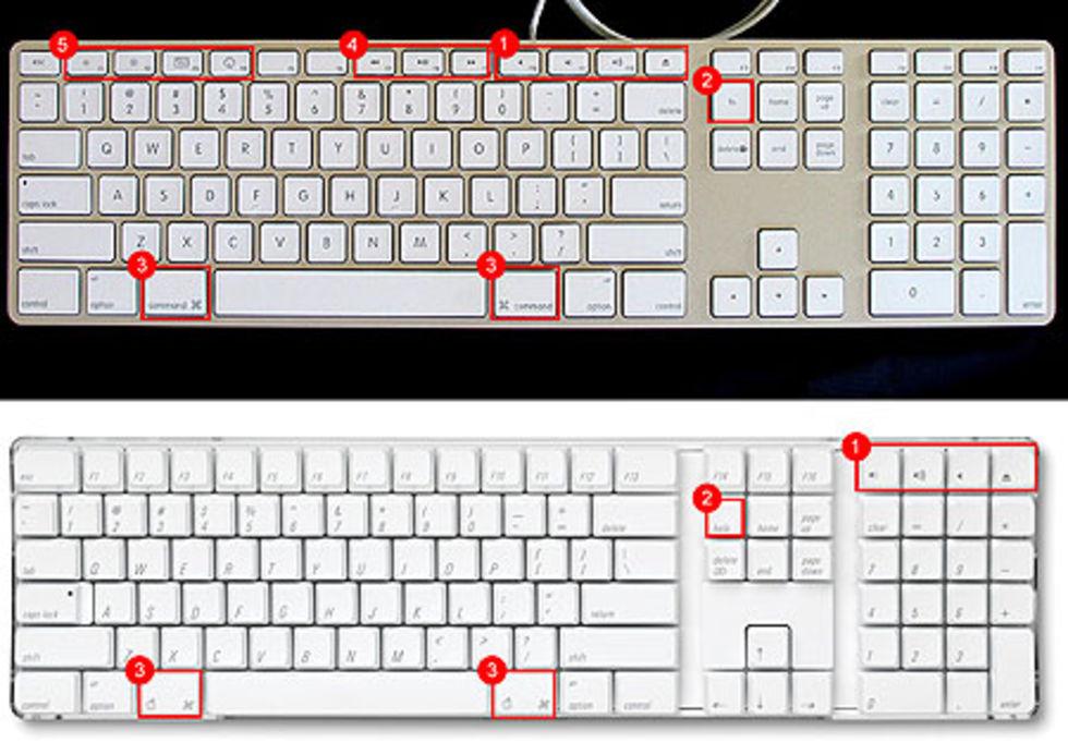 Apples nya ( ) och gamla tangentbord jämförs Mer likt ett ... 99c86354f2ab3