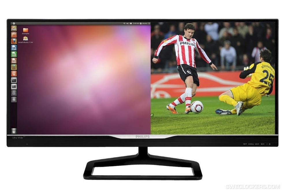 Philips släpper 21:9-skärmar till dator