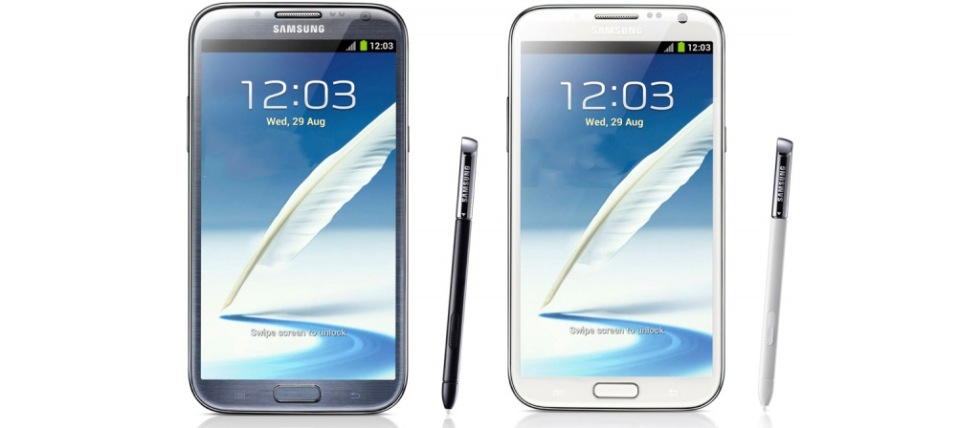 Samsung Galaxy Note II officiell
