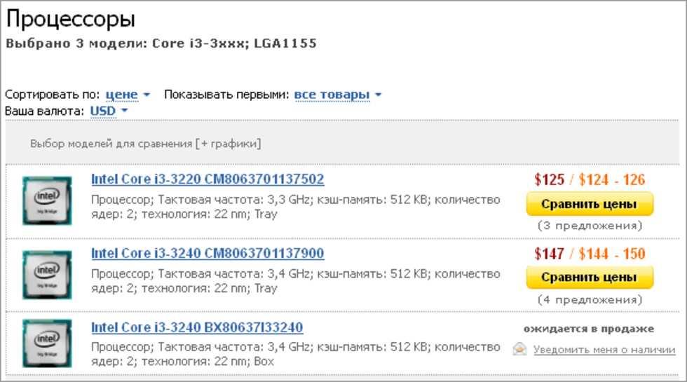 Core i3-3000-serien går att förbeställa i Ukraina