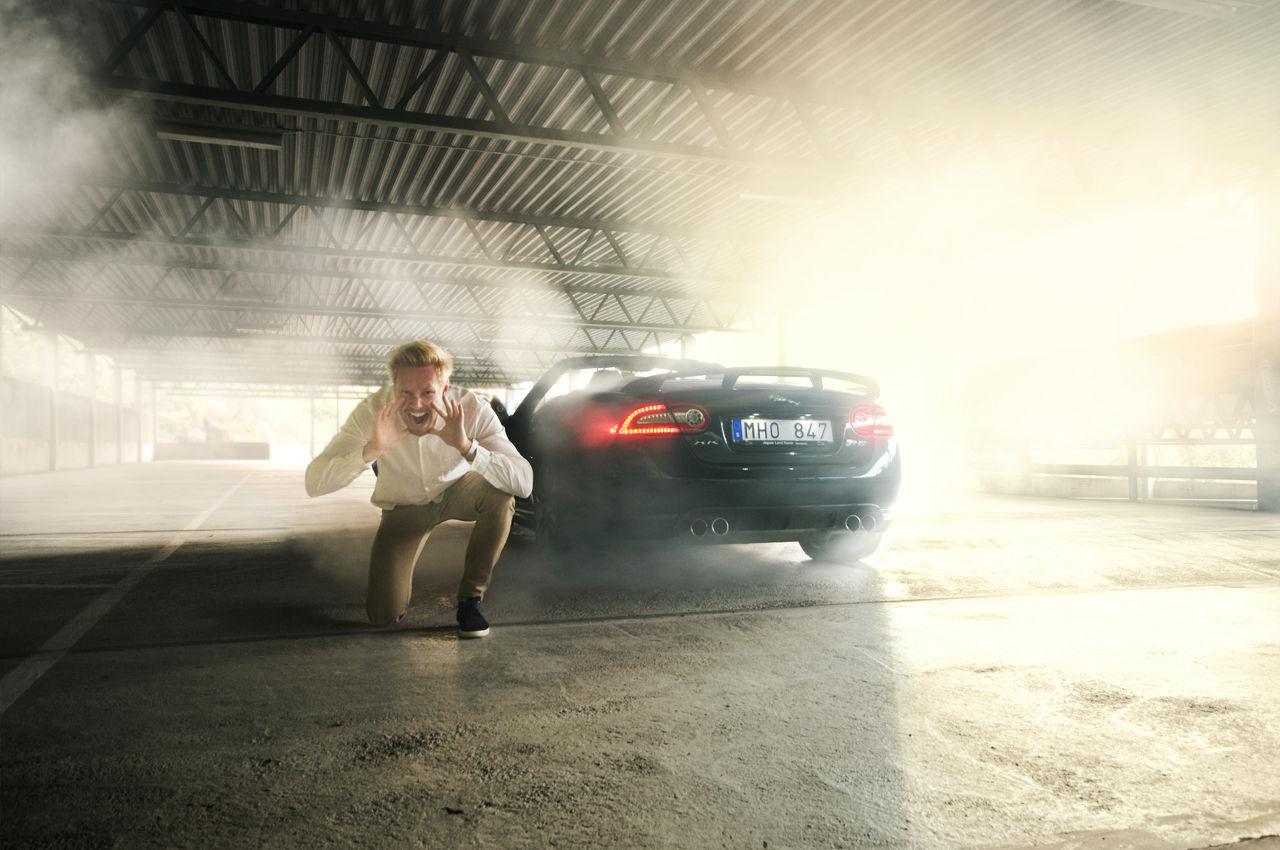 Jaguar XKR-S skriker högst