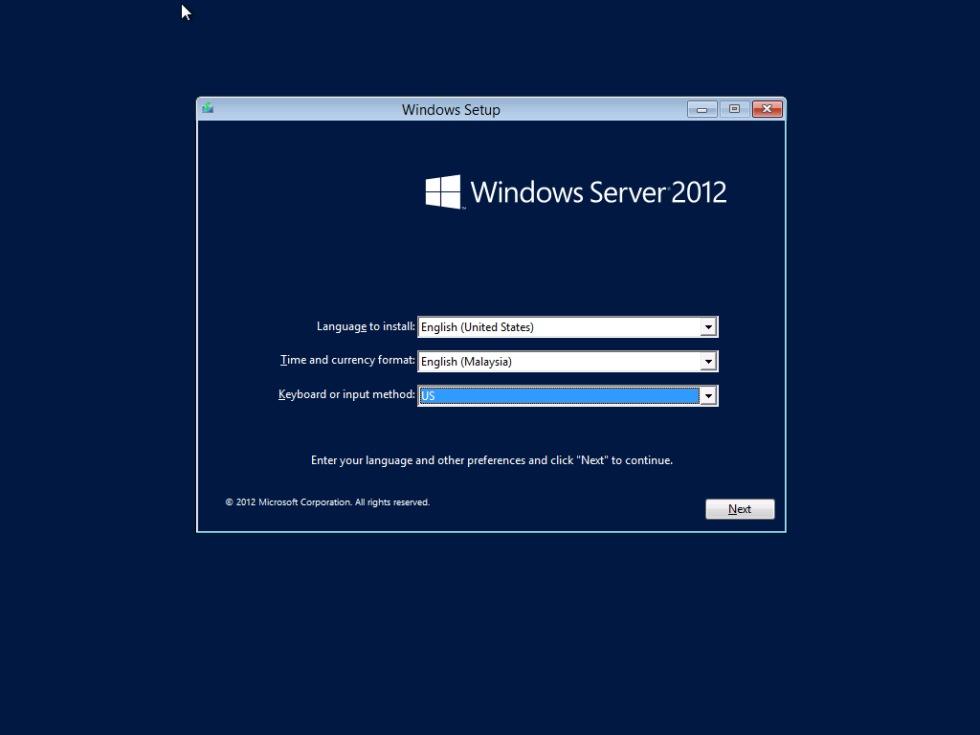 Microsoft lanserar Windows Server 2012