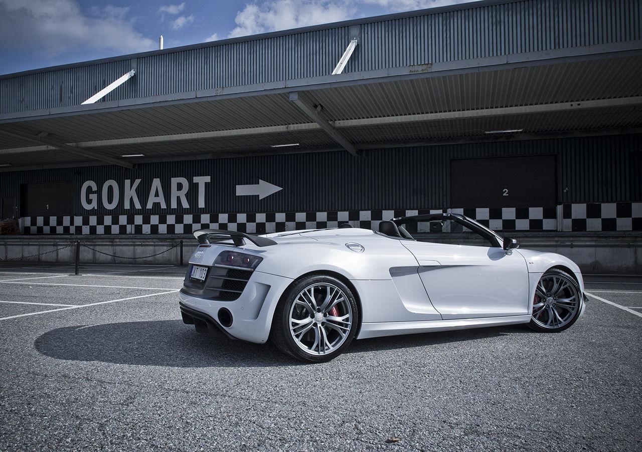 Audi R8 GT Spyder - hårdast av dem alla