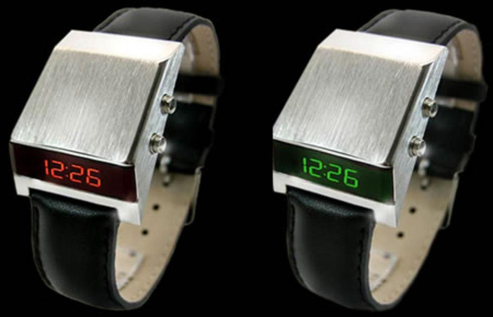 Armbandsur i 70-talsstil