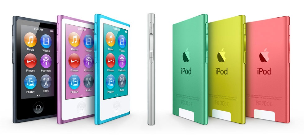 Apple släpper ny iPod Nano