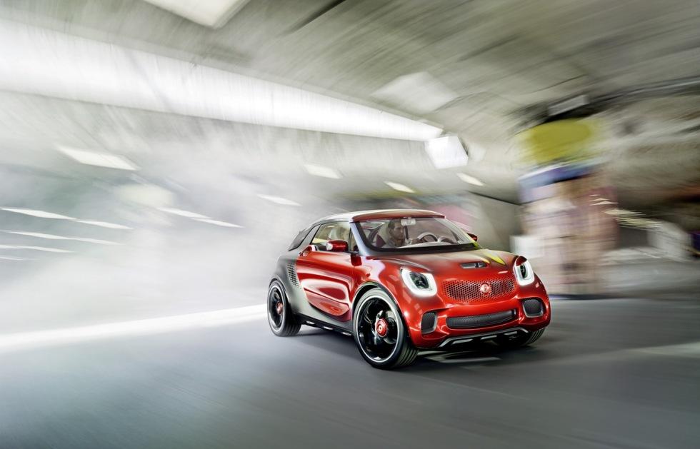 Smart ForStars - eldrivet koncept som kan bli nästa Roadster