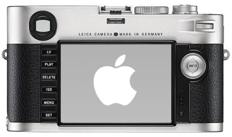 Jonathan Ive designar Leica-kamera