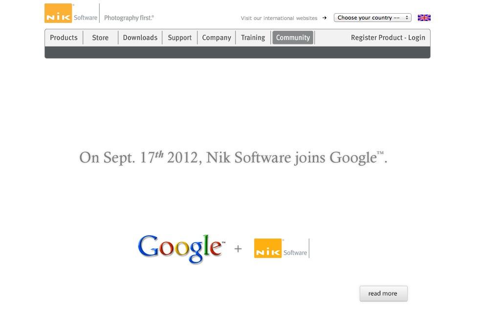 Google köper NIK Software