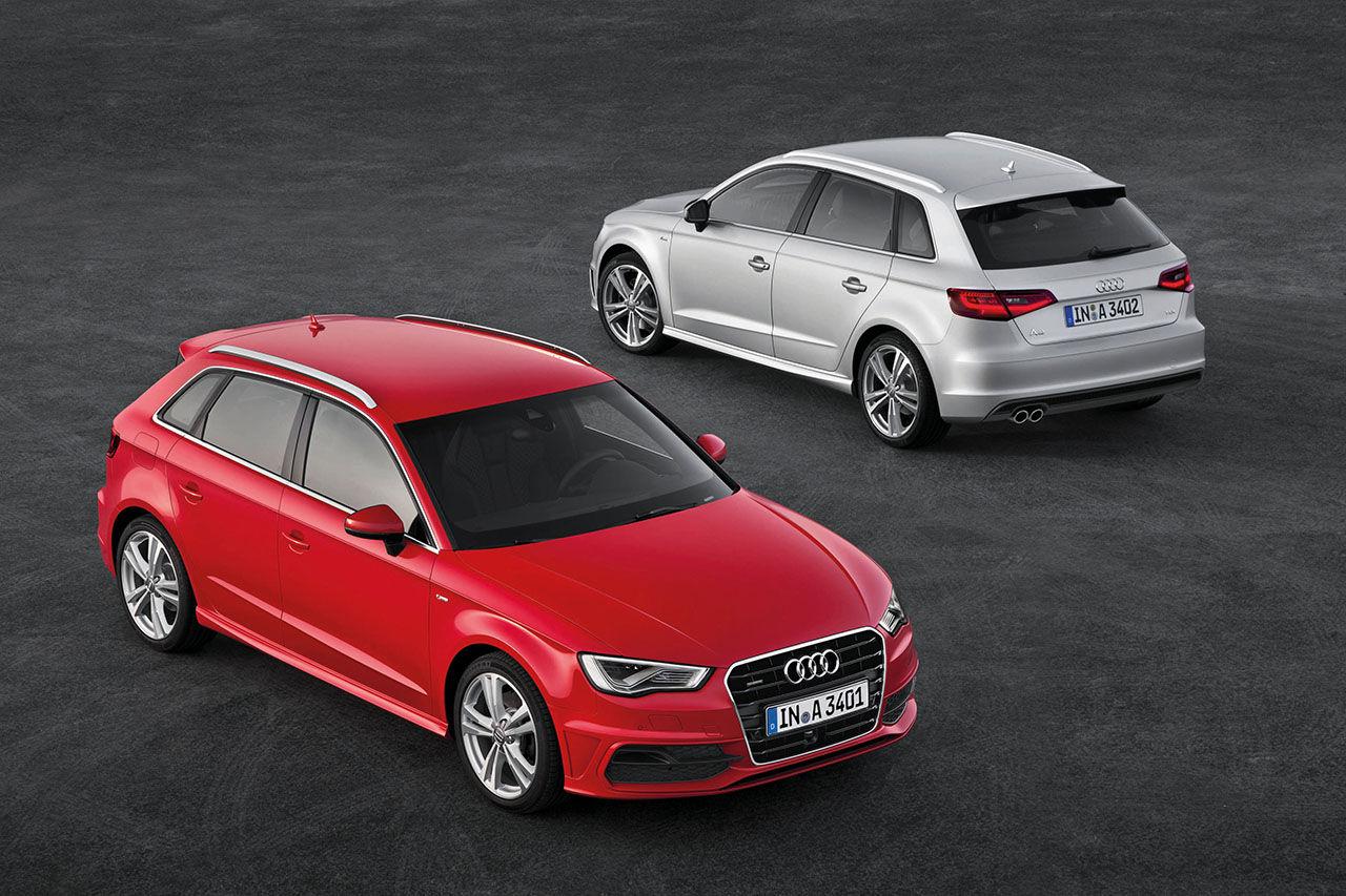 Audi visar upp nya A3 Sportback