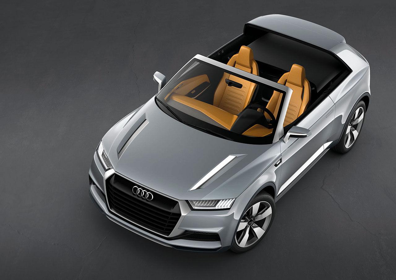 Audi visar upp mini-suven Crosslane concept