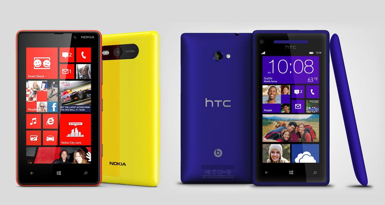Nokia tycker att HTC 8X är för lik Lumia 820