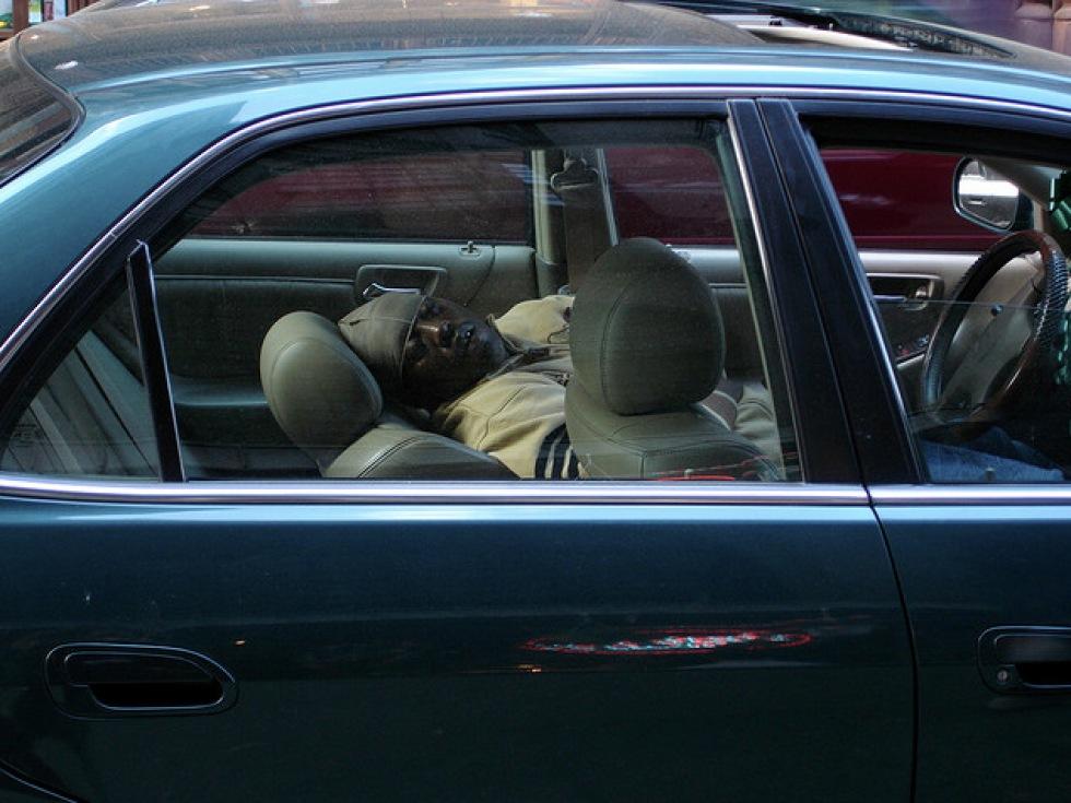 Män somnar bakom ratten oftare än kvinnor
