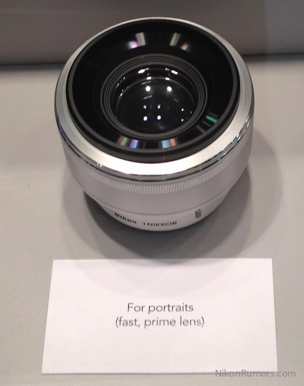 32mm f/1.2 till Nikon 1?