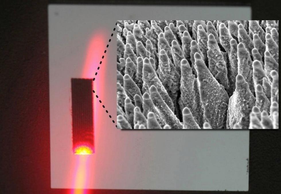 Svarta solceller fångar infrarött ljus
