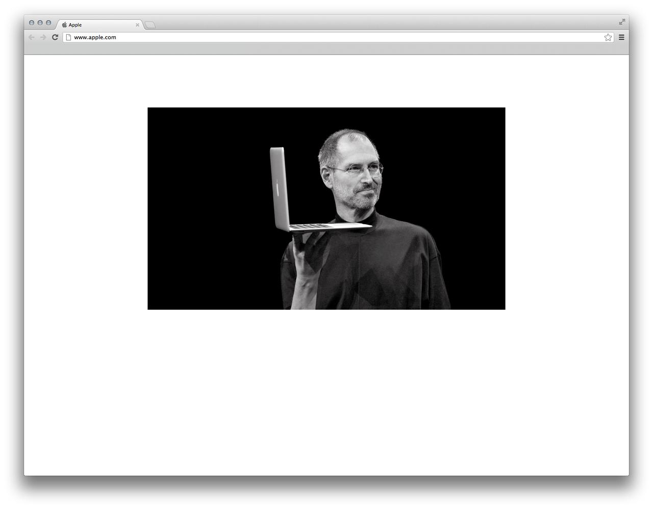 Apple hedrar Steve Jobs