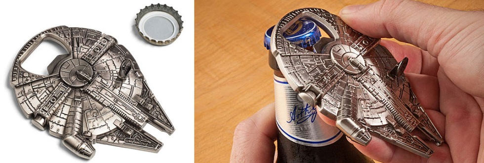 Millenium Falcon som kapsyl-öppnare