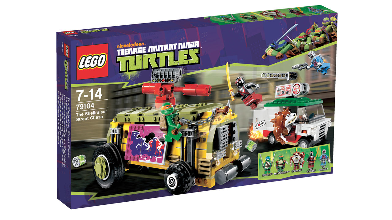Turtles blir Lego!