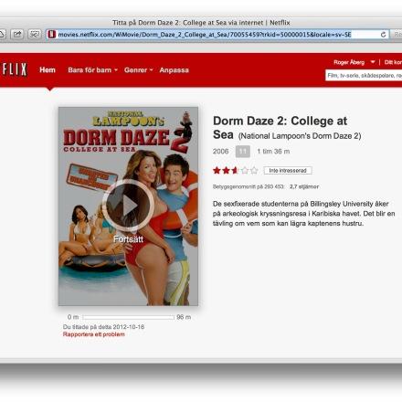 Amerikanska Netflix Utbud