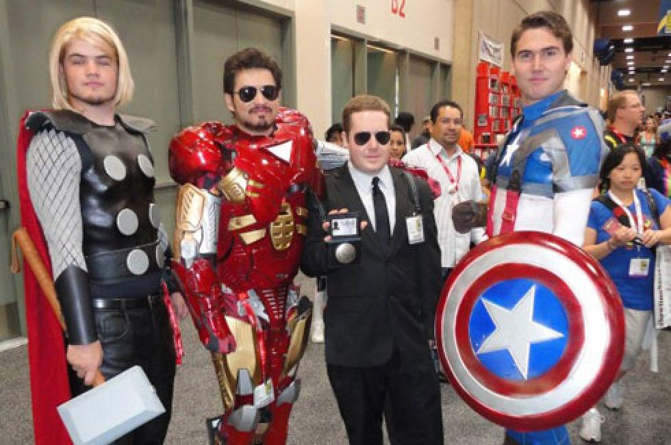 Avengers populärast på Halloween