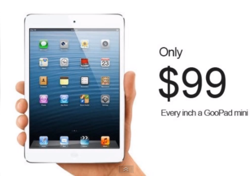 GooPad mini - ripoff på iPad mini