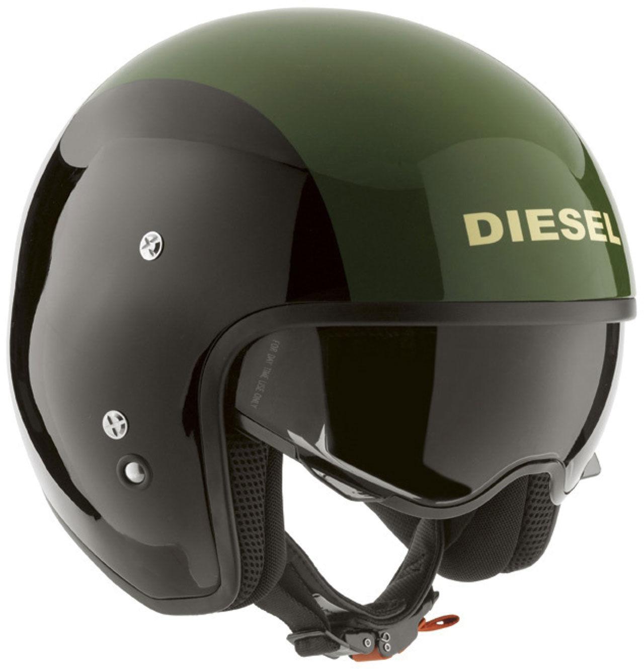 Diesel lanserar mc-hjälmar