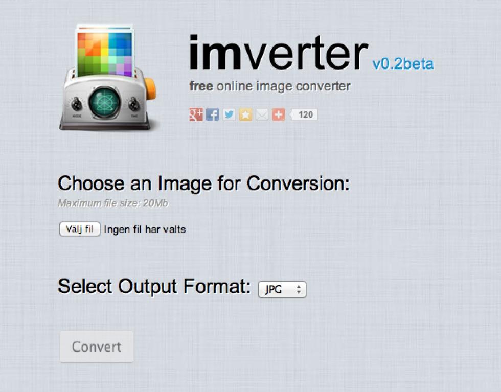 Imverter fixar filformatskrångel för bildfiler